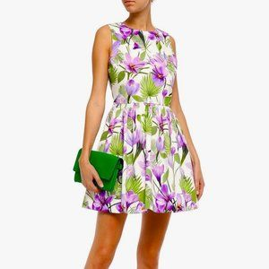 🆕 Alice + Olivia Joyce Purple Floral Mini Dress 4
